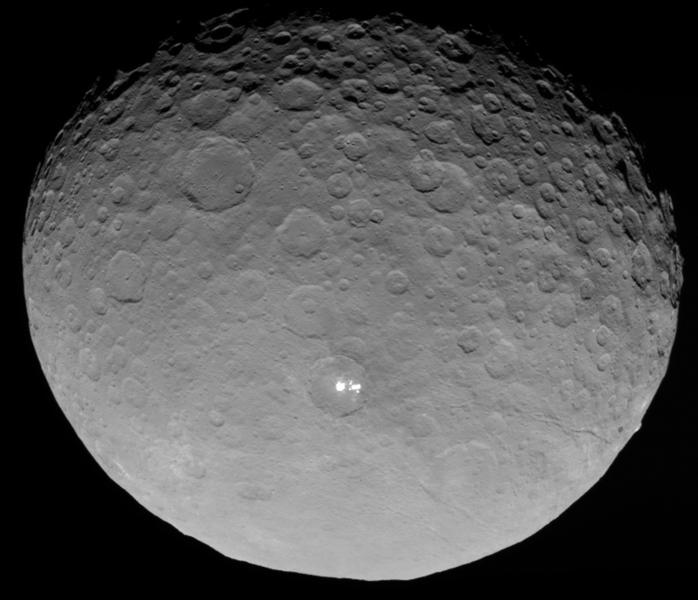 NASA releases amazing pics of Ceres