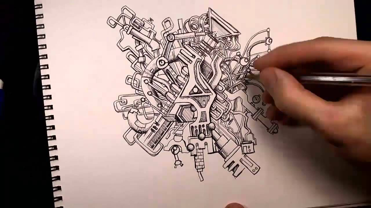 Epic doodling
