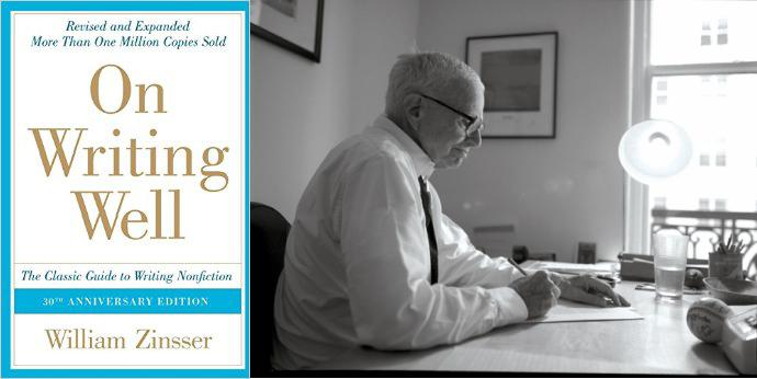 10 writing tips from legendary writing teacher William Zinsser