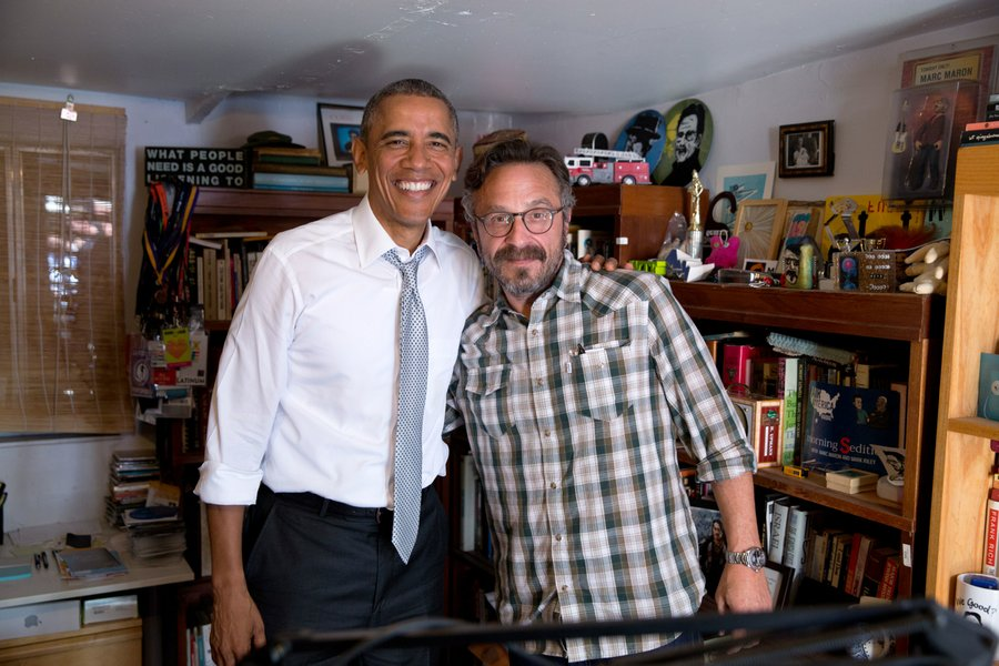 listen to marc maron 39 s wtf interview with president obama boing boing. Black Bedroom Furniture Sets. Home Design Ideas