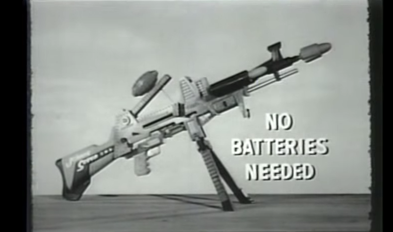 Unbelievable Boy S Toy Gun Ad From 1964 Johnny Seven Oma One Man