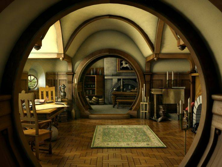 bilbo baggins 39 hobbit hole would cost 14m if it were in the shires of england boing boing. Black Bedroom Furniture Sets. Home Design Ideas