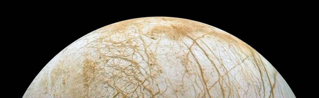 Europa. Image: NASA.