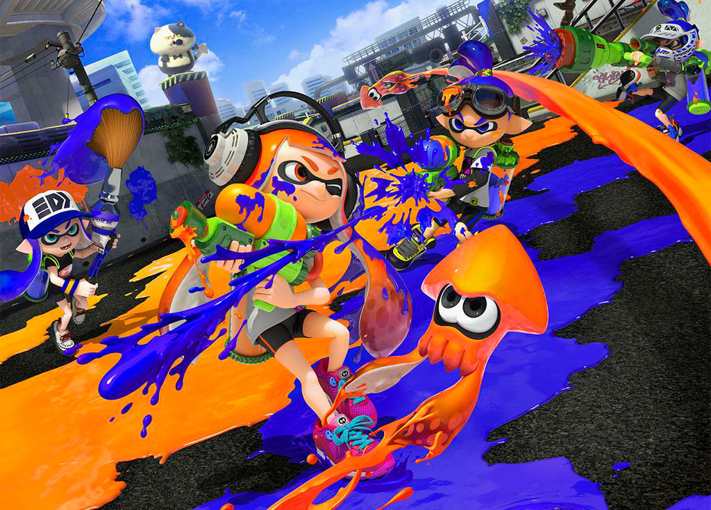 i didn t like shooting games then i fell in love with splatoon