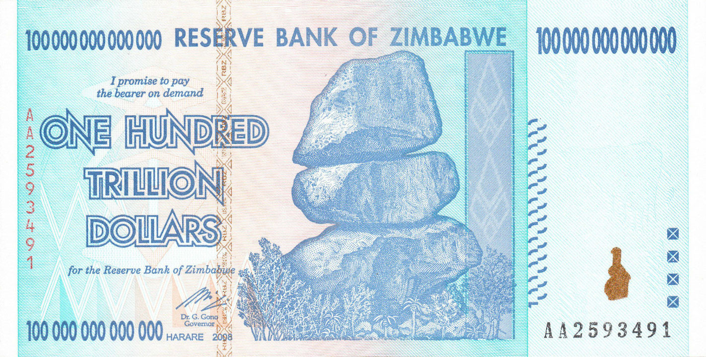 zimbabwe forex reserves