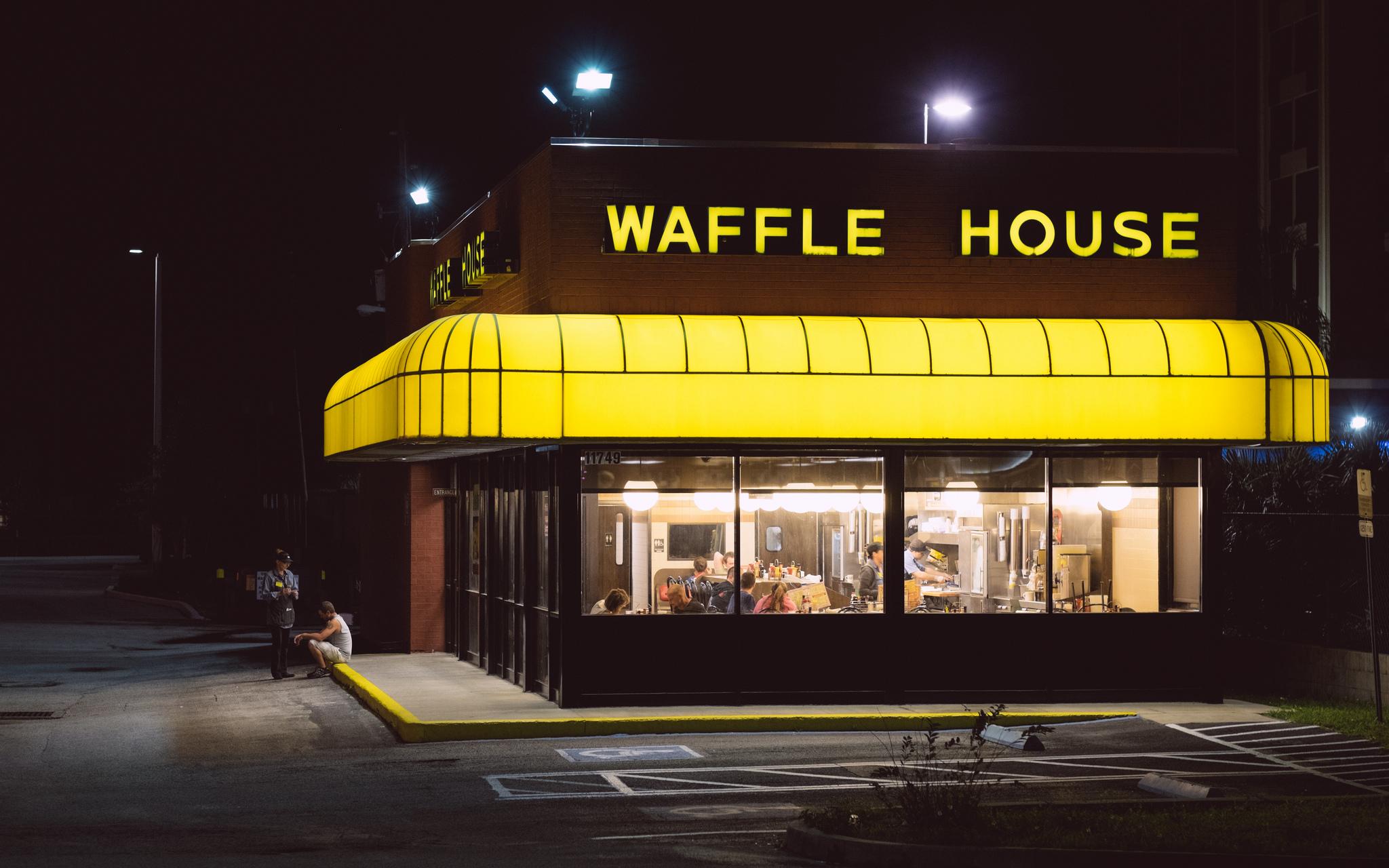 """""""Waffle Nights,"""" Ahmed Hashim."""