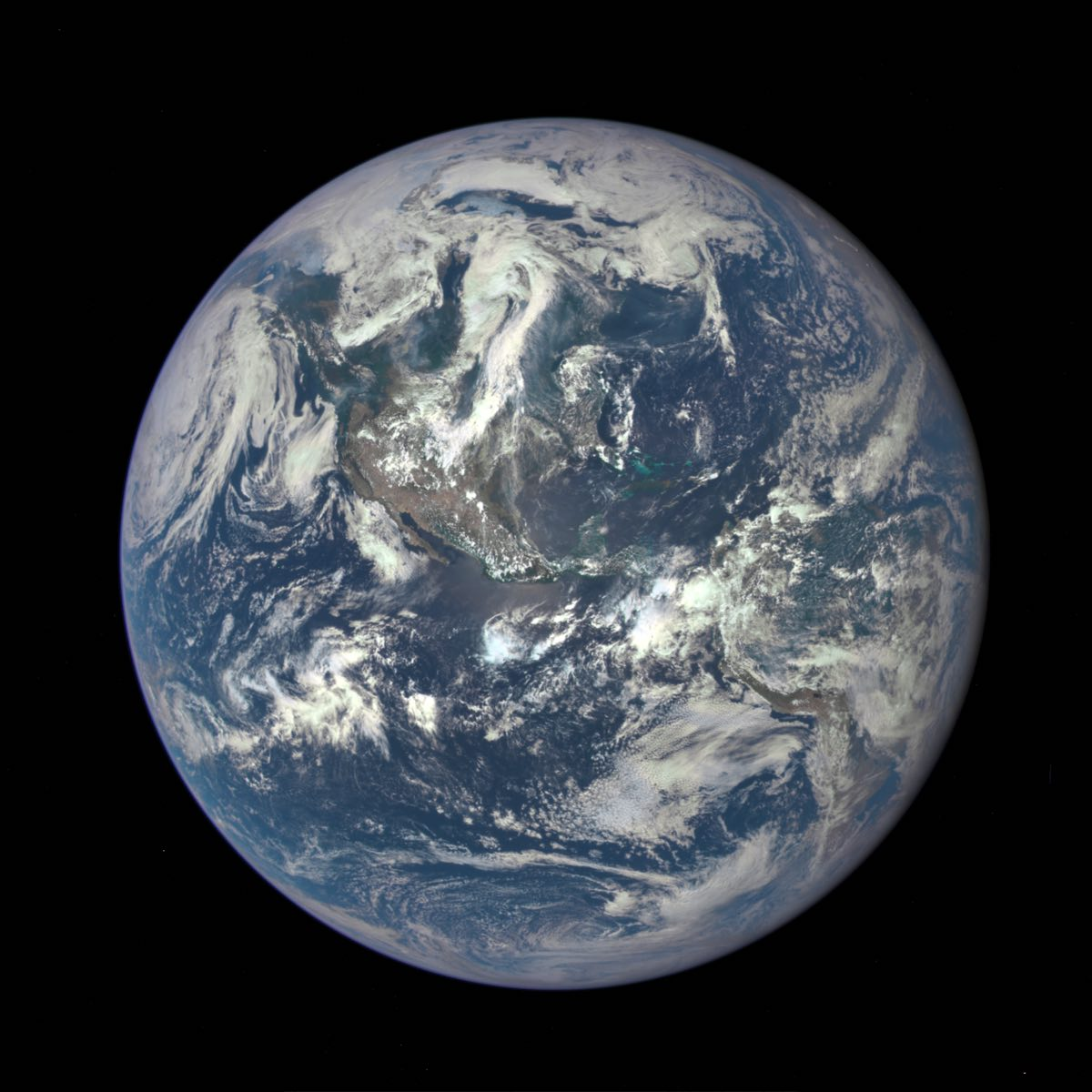 A new, EPIC view of planet Earth from NASA satellite ...