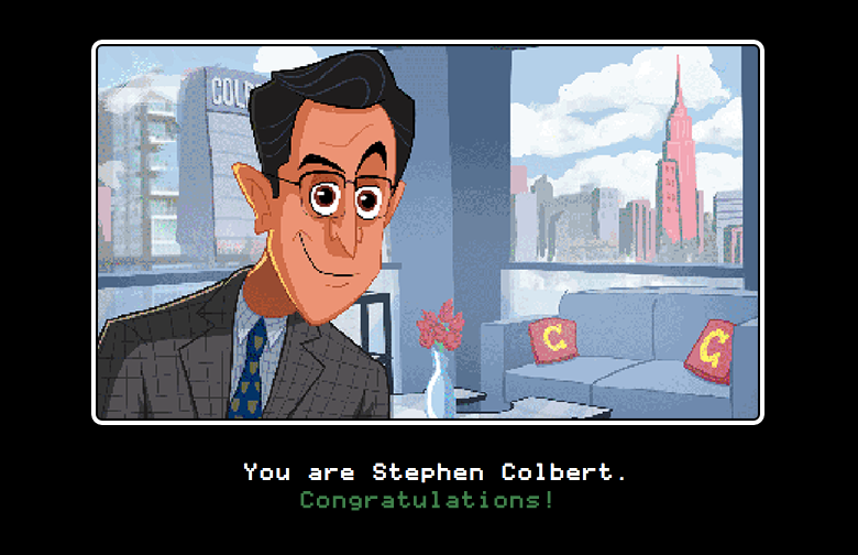 Stephen Colbert Made A Text Adventure About Getting Locked In A Closet /  Offworld