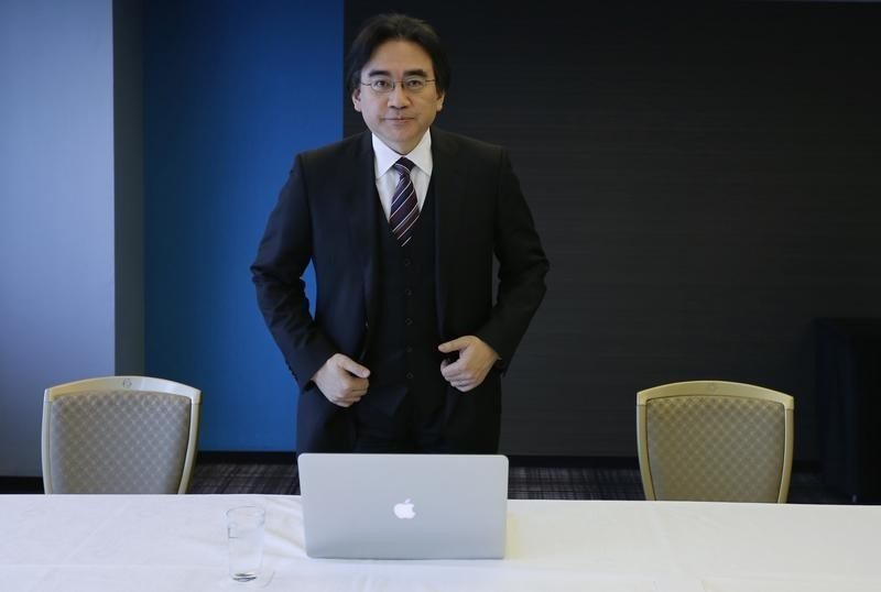 Nintendo Co's President and Chief Executive Satoru Iwata. REUTERS/Toru Hanai, 2014