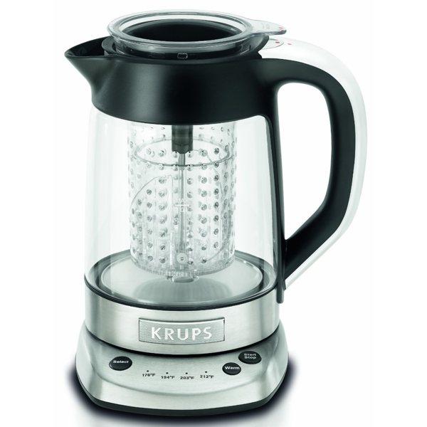krups electric kettle with tea infuser boing boing. Black Bedroom Furniture Sets. Home Design Ideas