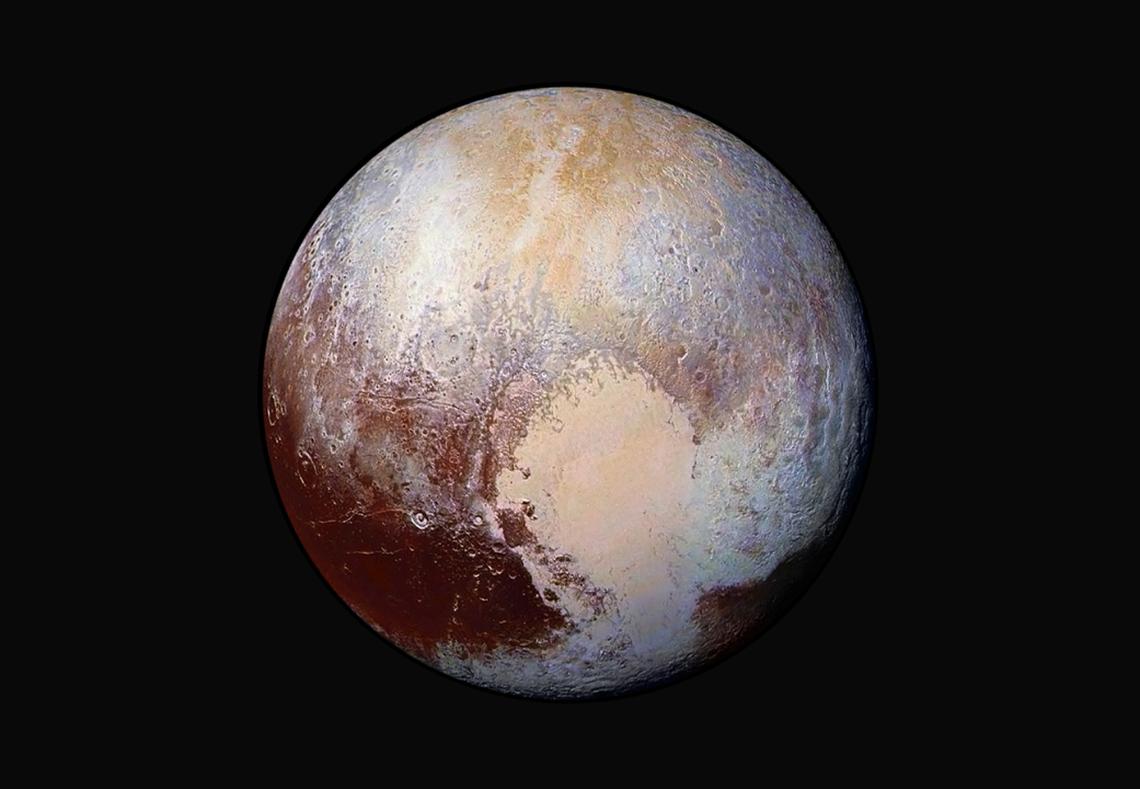 NASA unveils gorgeous new false-color image of Pluto ...