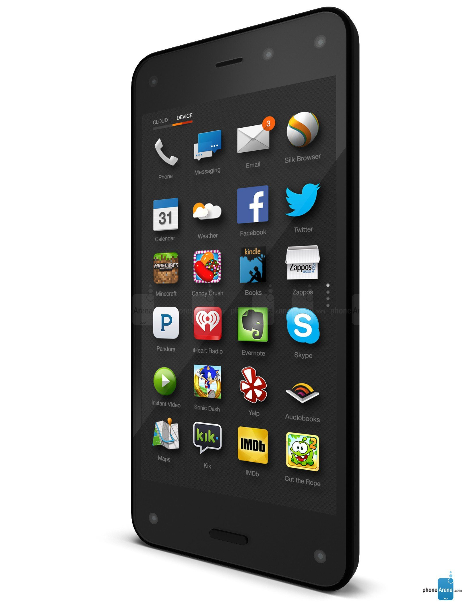 Amazon Fire Phone On Sale For $130 (includes A Year Of Prime Worth $99)