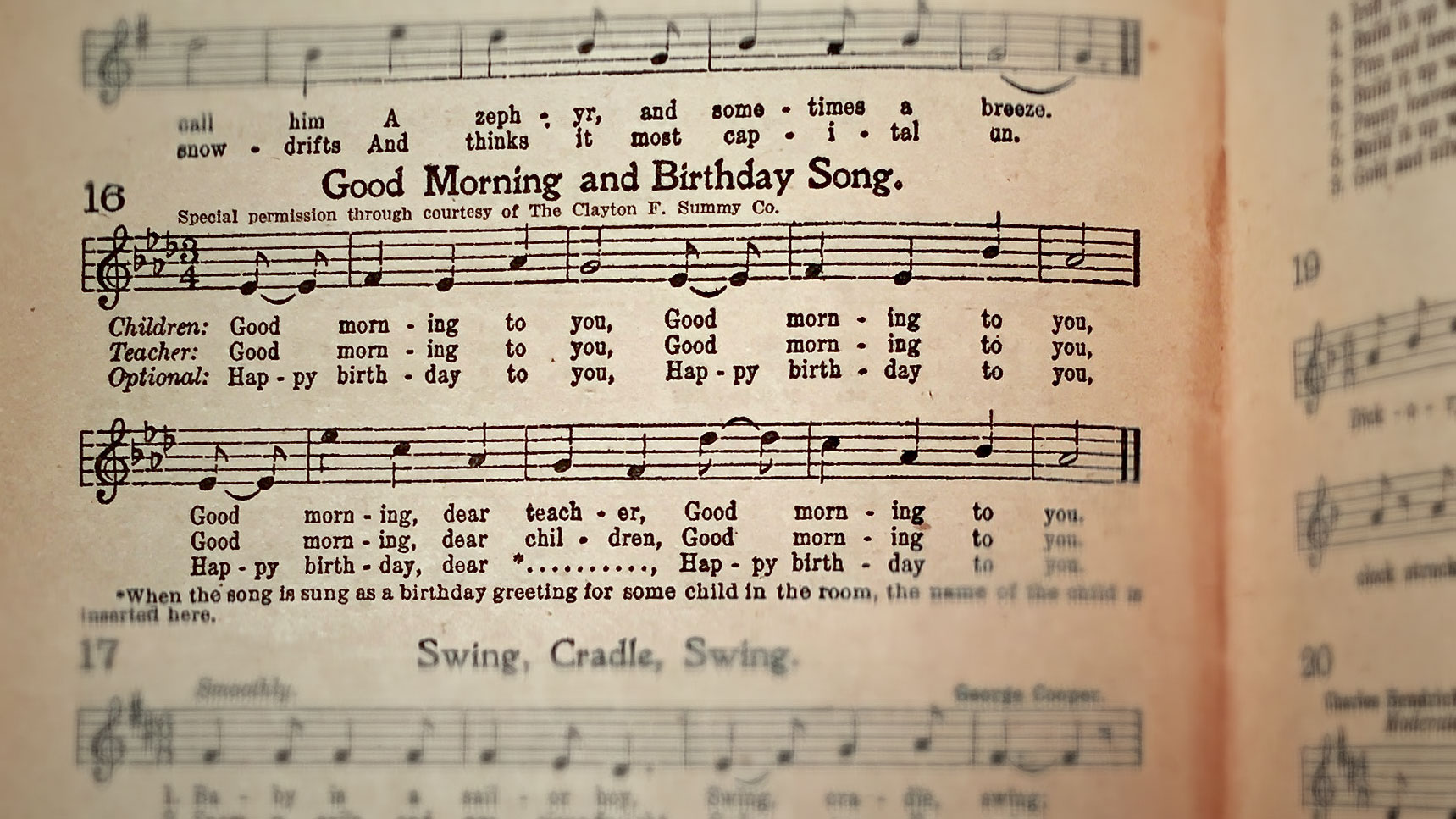 The twisted history of the Happy Birthday song—and the copyright
