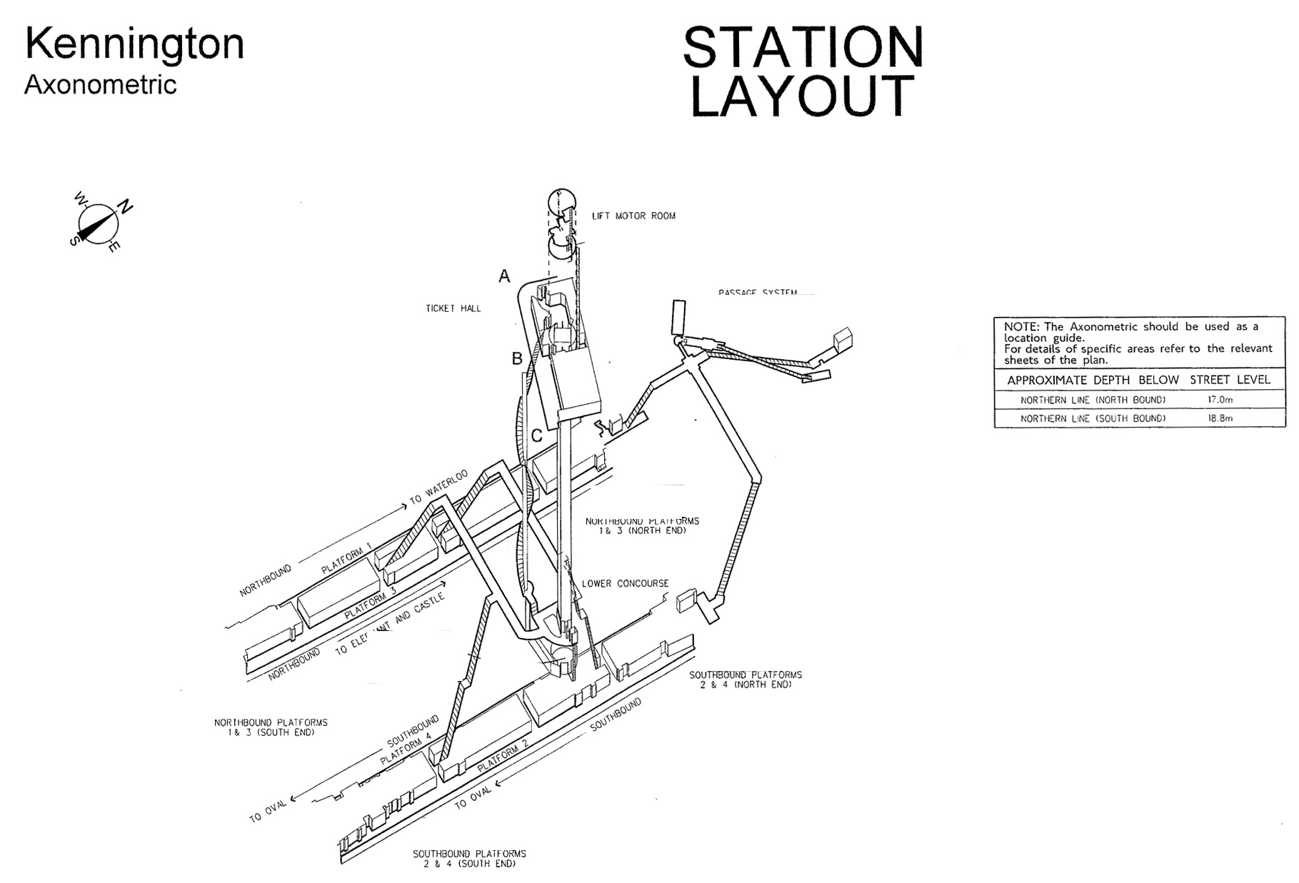 3d maps of london underground stations    boing boing