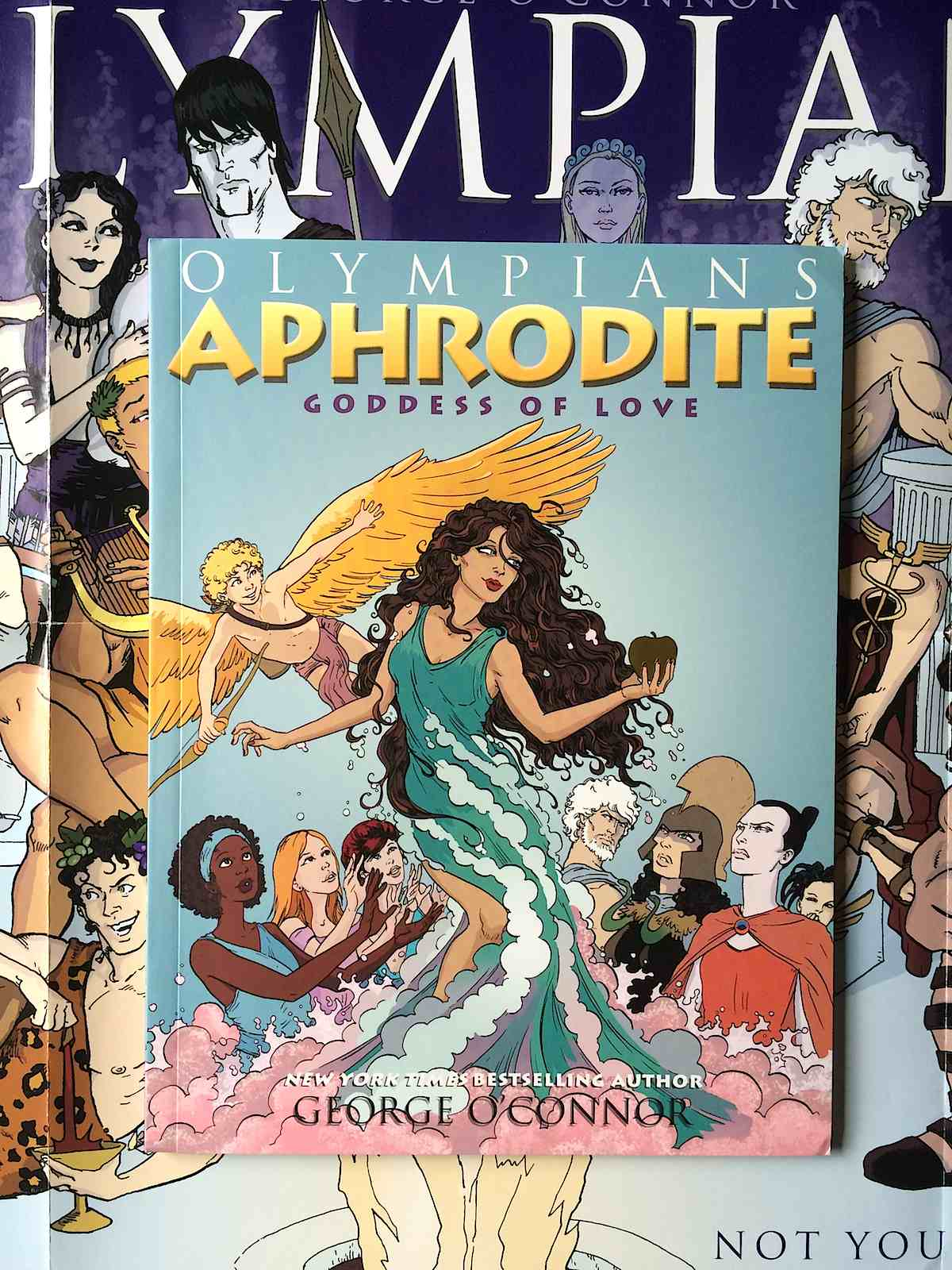 olympians zeus athena hera poseidon hades and aphrodite are