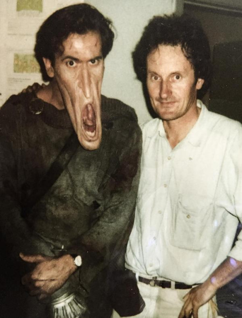 Excellent weird makeup from Army of Darkness / Boing Boing