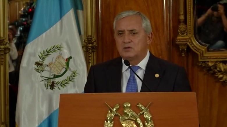 Guatemalan President Otto Pérez Molina resigns