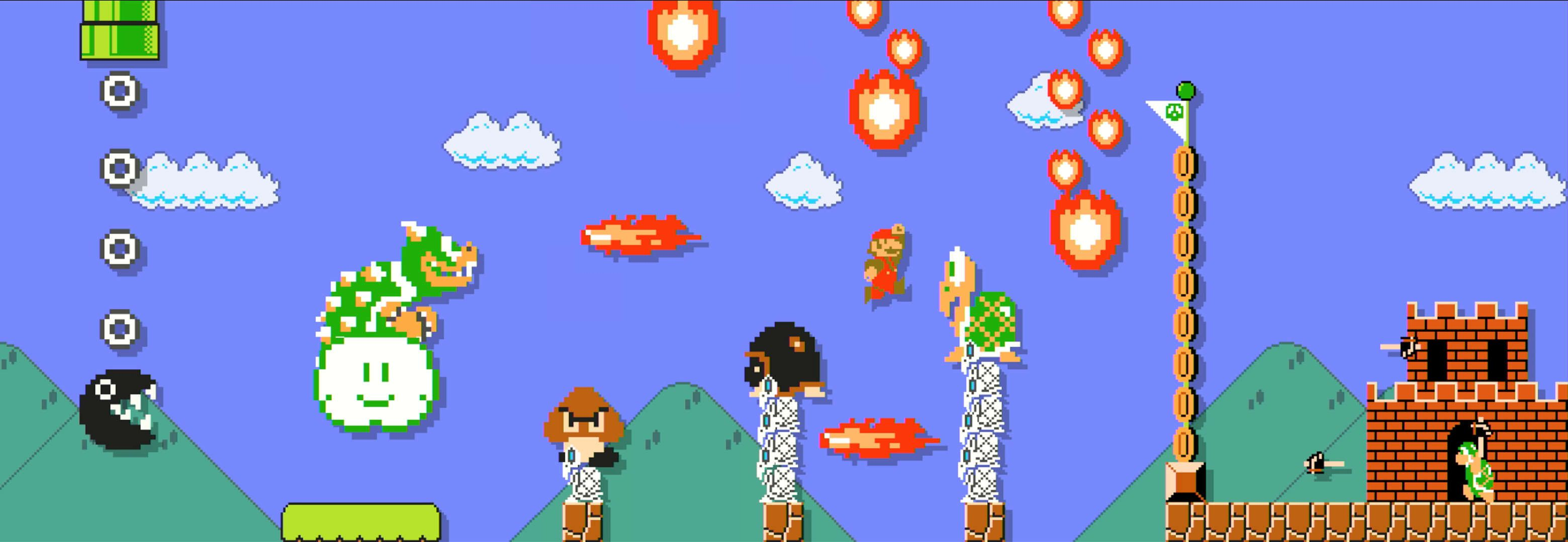 Your Super Mario Maker level has no chill / Offworld