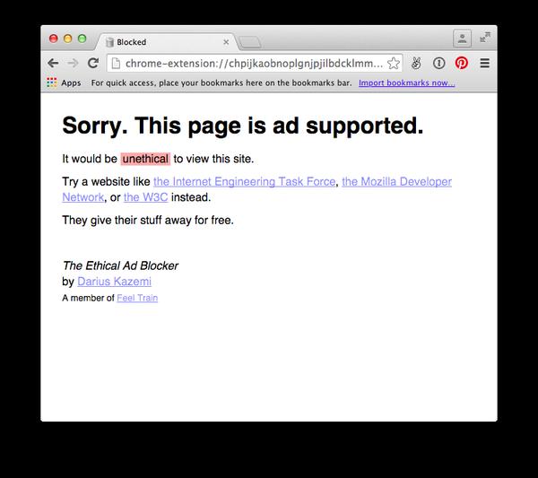 The ethical ad blocker / Boing Boing
