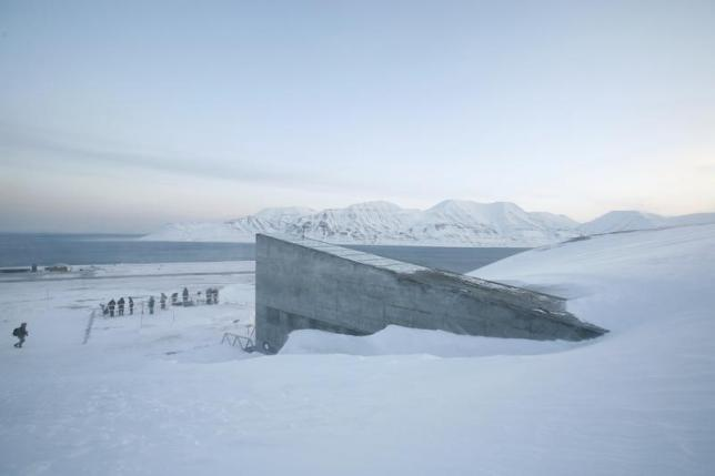 The Global Seed Vault in Norway. REUTERS