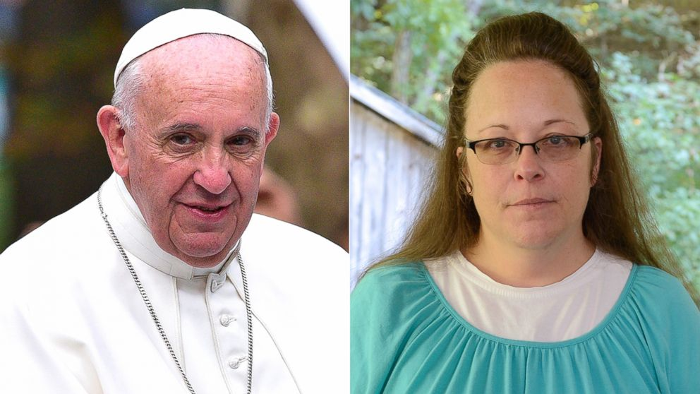 Kim Davis, Who Refused to Issue Same-Sex Marriage Licenses Is in ...