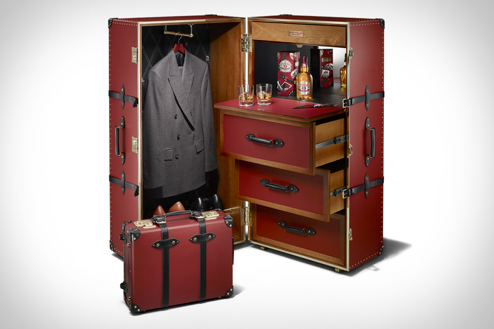 steamer trunk with built  boing boing