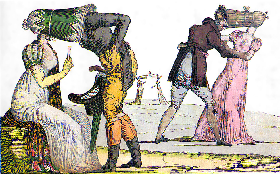 Invisibles-Tete-a-Tete-poke-bonnet-satire-1810s2