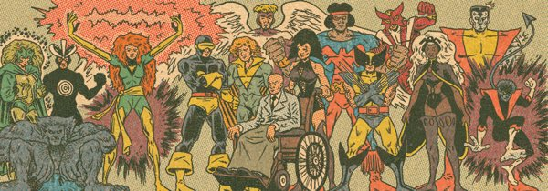 X Men Line Up Decade By Decade Boing Boing