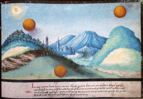 Beautiful study of UFO sightings from ancient history