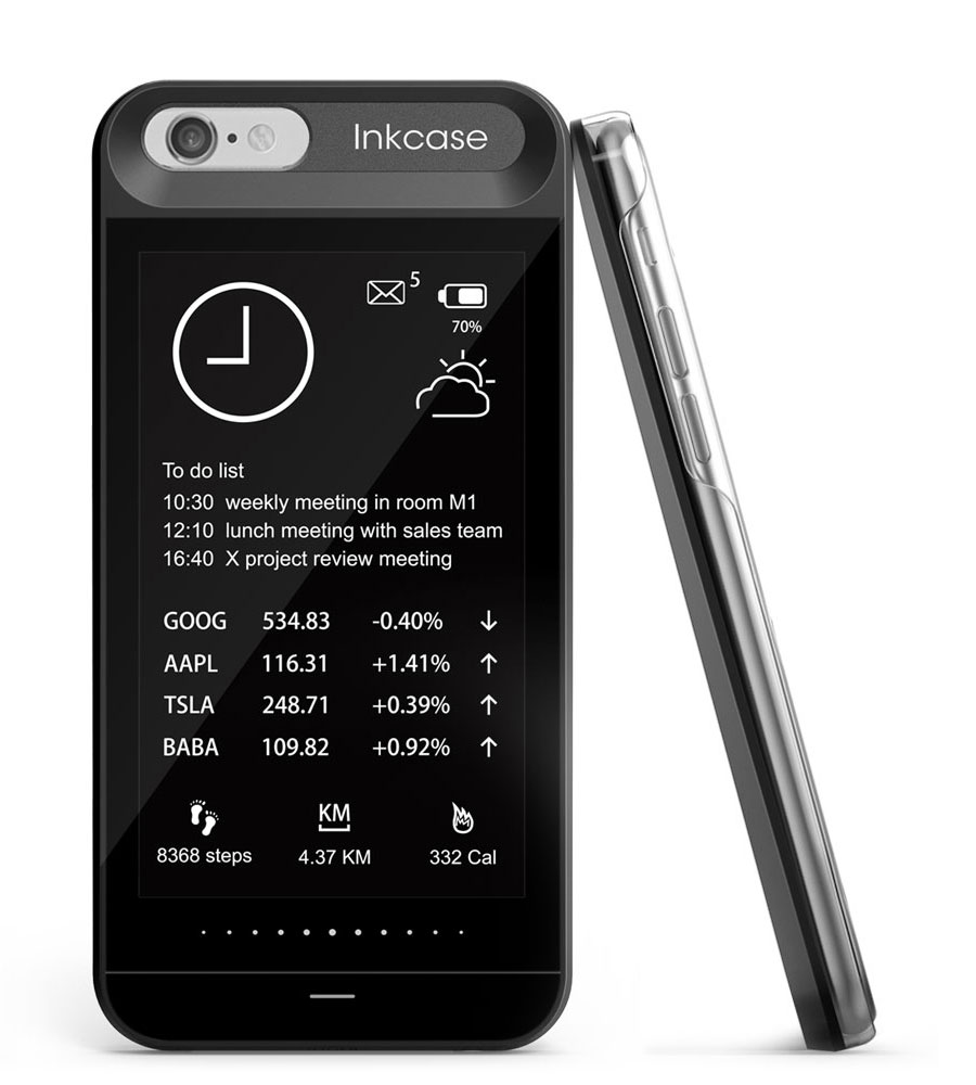Inkcase is an e-ink display for your iPhone