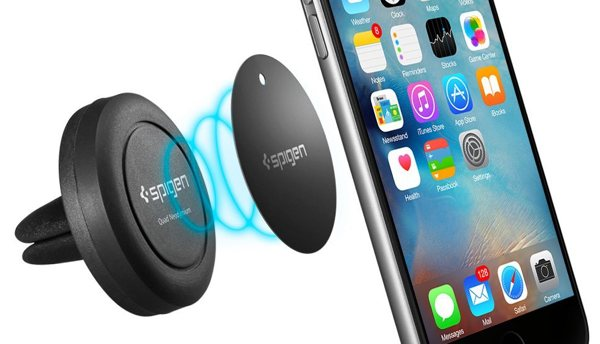 on sale a7e37 478d8 My favorite car phone mount so far is the $(removed) Spigen Magnetic ...