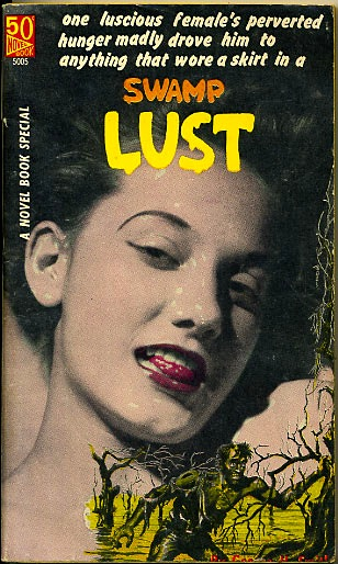 Image result for swamp lust pulp cover