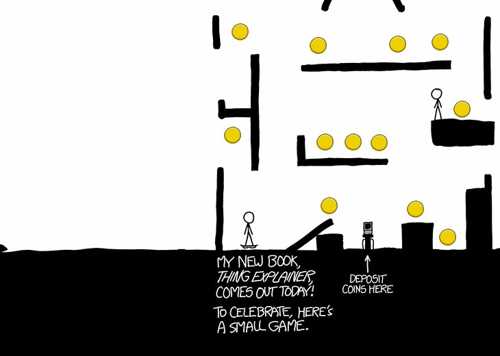 Hoverboard: Massive, Mysterious XKCD Game (with A Hidden Story?)