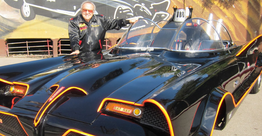 George Barris Creator Of The Original Batmobile And Many Other