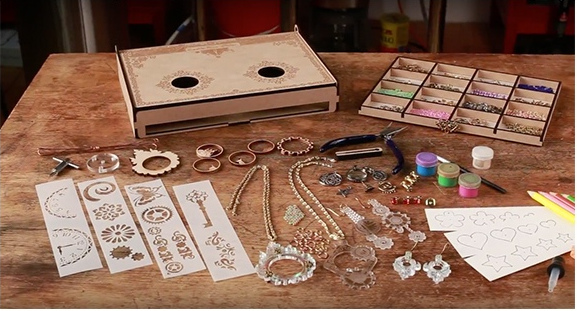 Kickstarting a jewelry-making kit for girls that teaches coding