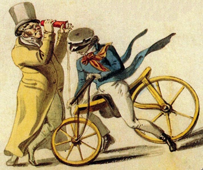 "An illustration from 1818, titled ""Human Nonsense."" (Photo: Public Domain/WikiCommons)"