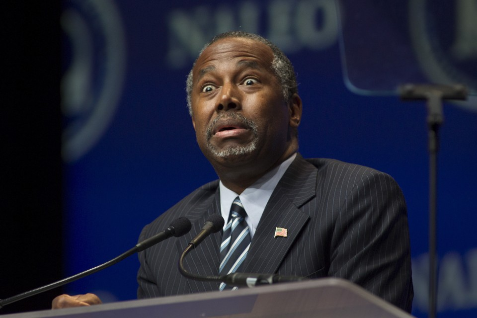 Ben Carson, who wants to be president. [Reuters]