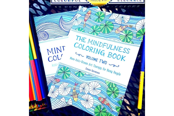 The Mindfulness Coloring Book Anti Stress Art Therapy For Busy People Volume 2 Boing
