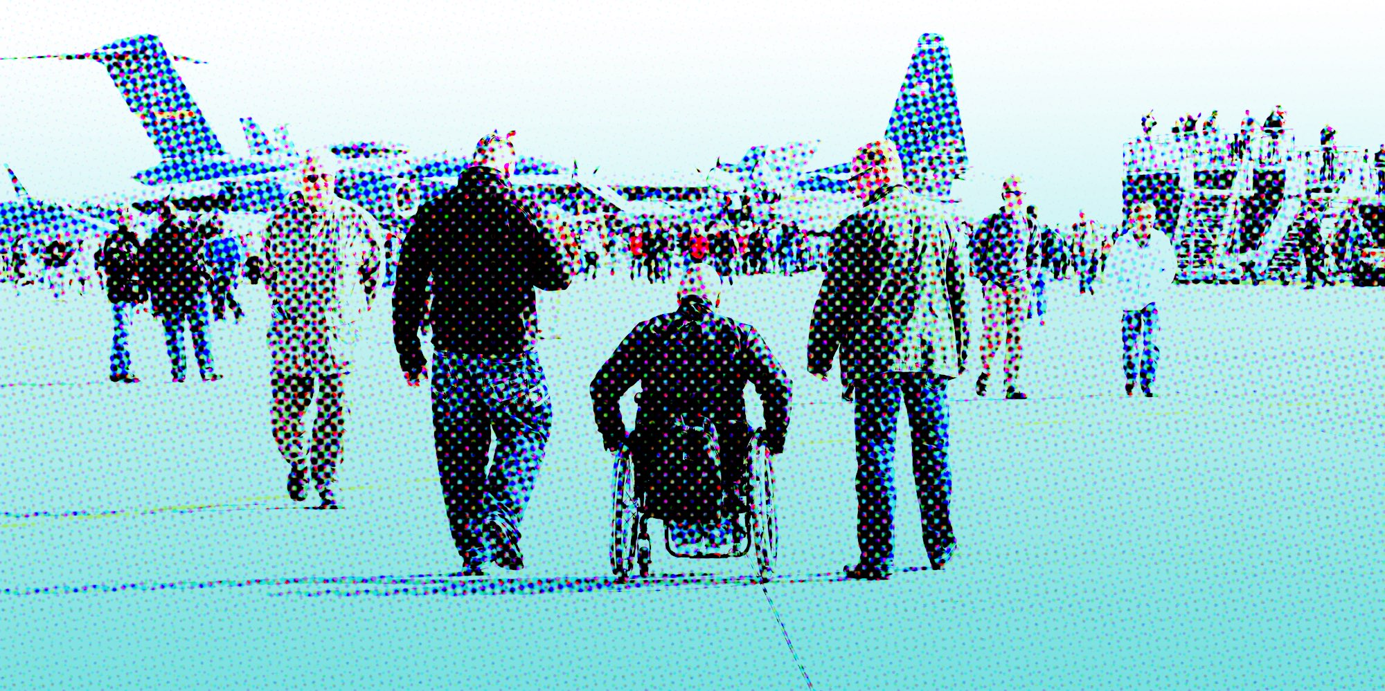 You think holiday air travel sucks? Try flying while disabled. On American Airlines.