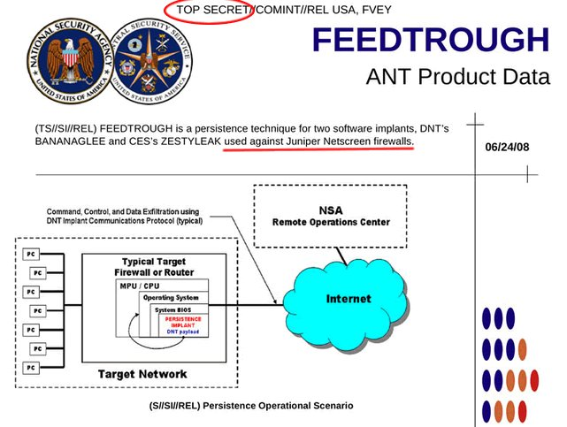 Juniper Networks backdoor confirmed, password revealed, NSA