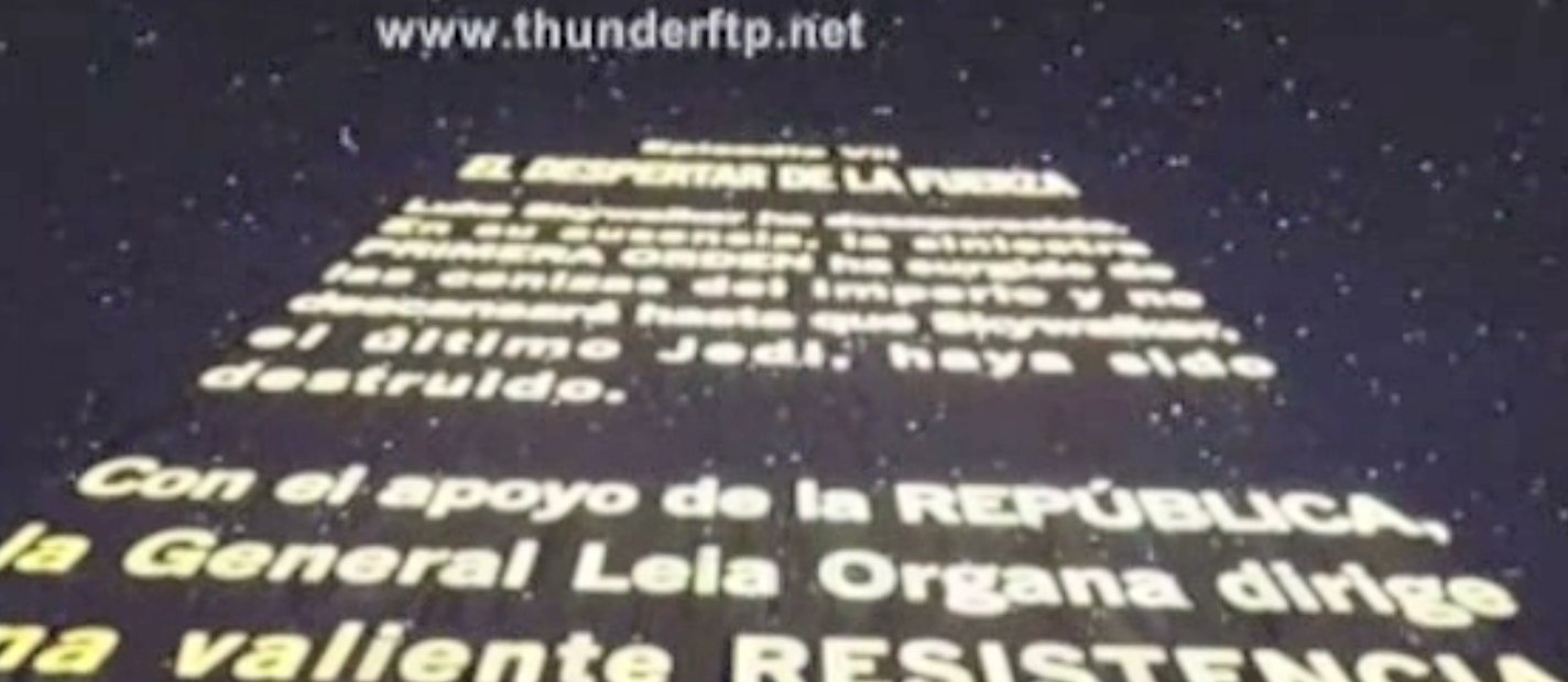 Cammed copies of Star Wars: The Force Awakens circulate on torrent sites