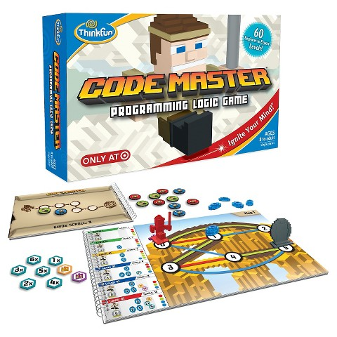 Code Master is an ingenious programming board game that'll make you feel smarter
