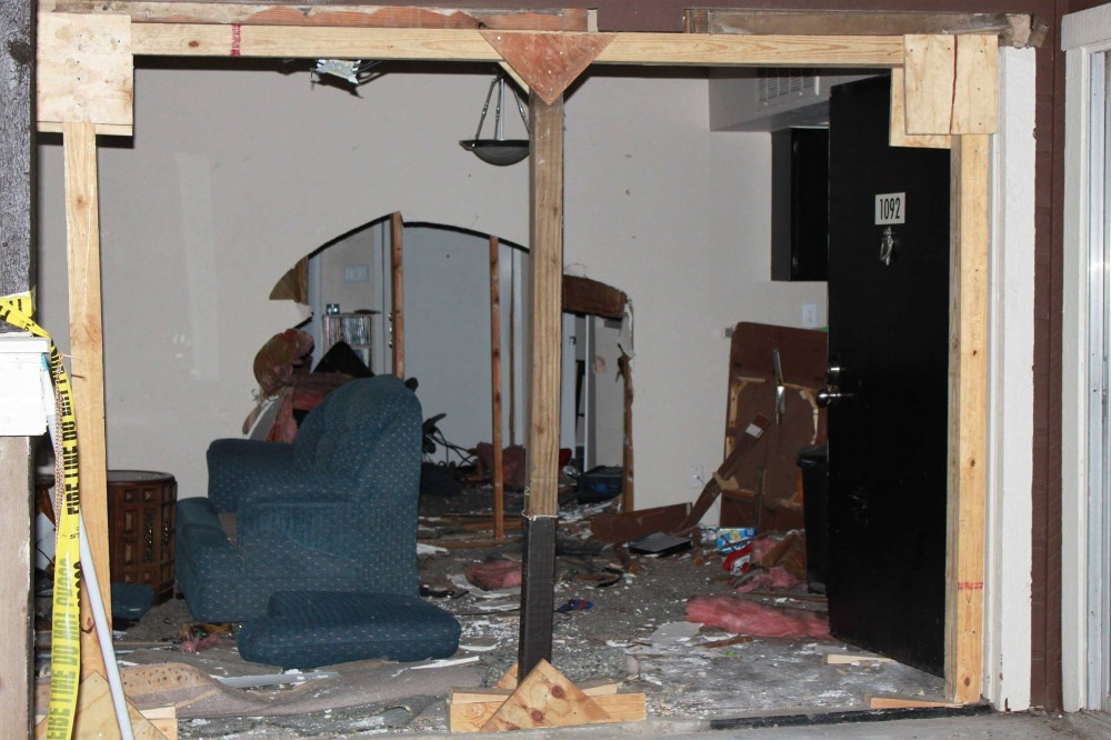Uninsured driver plows through gamer's living-room wall and creams