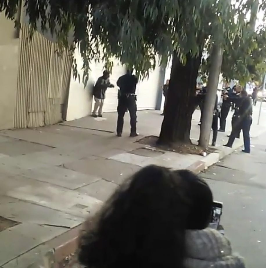 Black man in san francisco
