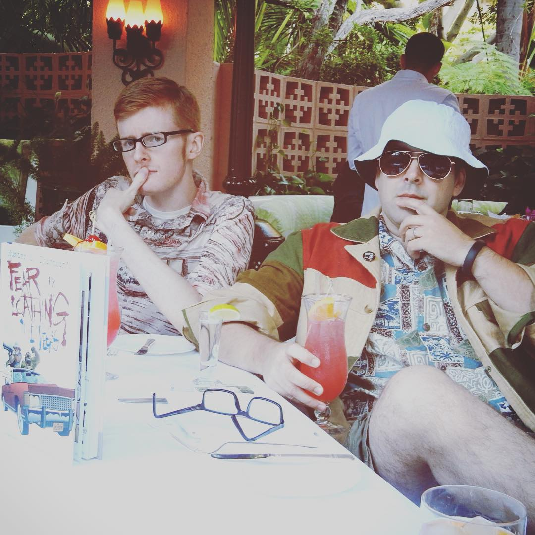 Leigh and Troy at Polo Lounge