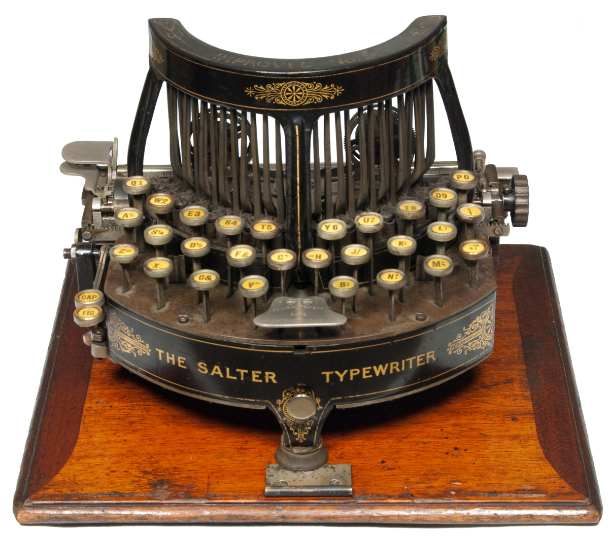 Gorgeous Victorian Early Typewriter Boing Boing