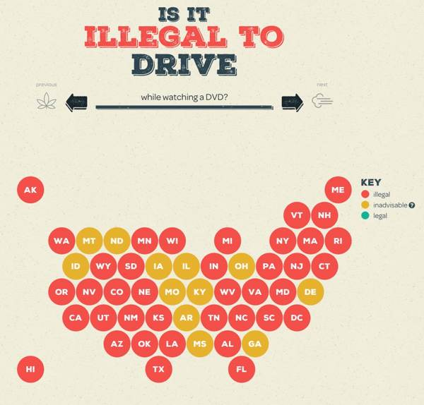 State driving laws on US map / Boing Boing on driving map of greece, driving map of florida, driving map of india, driving map of north dakota, driving map of puerto rico, driving map of idaho, driving map of british columbia, driving map of mexico, driving map of kentucky, driving map of south america, driving map of new hampshire, driving map of nova scotia, driving map of saskatchewan, driving map of uk, driving map of quebec, driving map of ireland, driving map of south carolina, driving map of france,