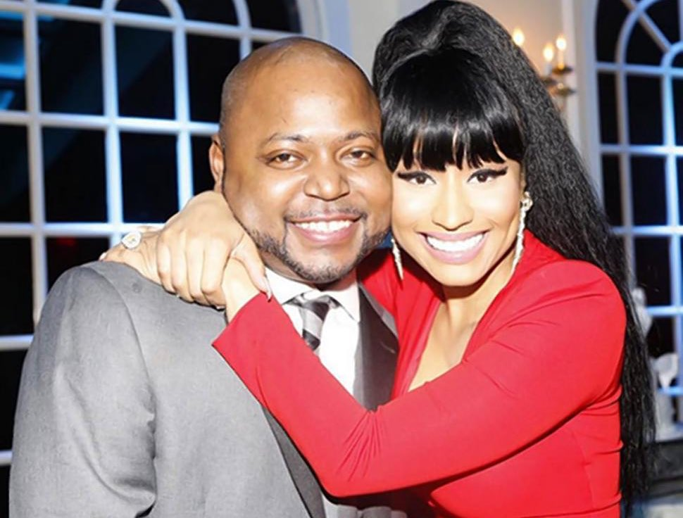 Jelani Maraj with his sister Nicki Minaj, at his recent wedding. Photo via Ms. Minaj's Instagram.