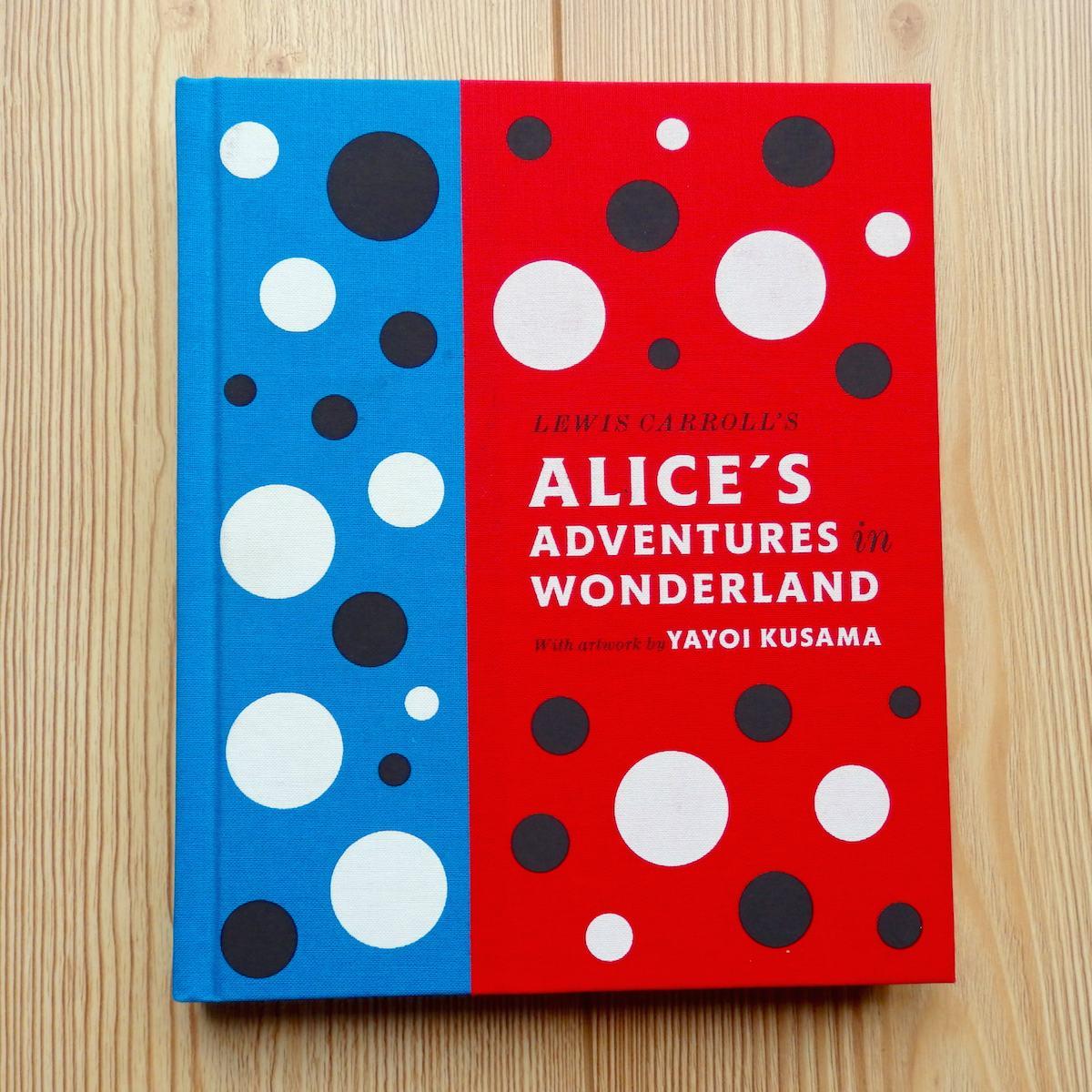 "Alice's Adventures in Wonderland by famed ""dot"" artist Yayoi Kusama"