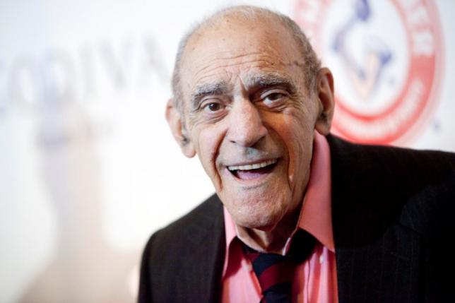 Abe Vigoda at Friars Club Roast of Betty White in NYC, 2012. REUTERS